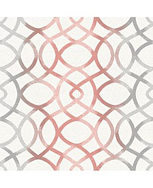 "Twister Trellis Wallpaper - 396"" x 20.5"" x 0.025"""