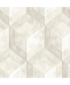 "Rustic Wood Tile Wallpaper - 396"" x 20.5"" x 0.025"""
