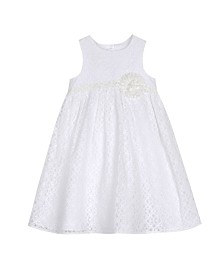 Laura Ashley Toddler and Little Girl's Lace Dress