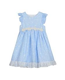Ruffle Sleeve Party Dress