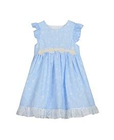 Laura Ashley Girl's Ruffle Sleeve Party Dress