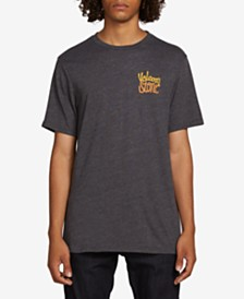 Volcom Men's Loopy Script Graphic T-Shirt