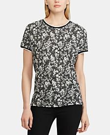 Lauren Ralph Lauren Double-Print T-Shirt