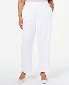 Plus Size In The Navy Pull-On Pants