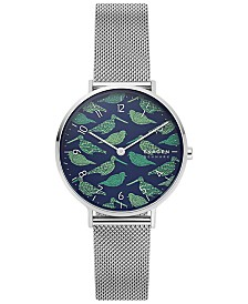 Skagen Women's Aaren Stainless Steel Mesh Bracelet Watch 36mm