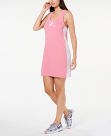 Nike Gym Vintage Colorblocked Tank Dress