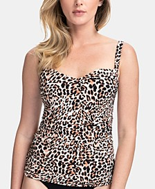 Wild Thing Tankini Swim Top, Available in D Cup