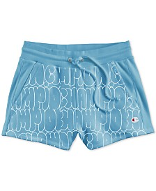 Champion Reverse-Weave High-Waist Shorts