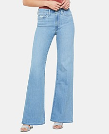 High-Rise Flare-Leg Jeans