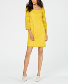 Trina Turk Lace Shift Dress