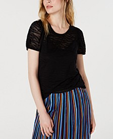 INC Zebra Burnout Top, Created for Macy's