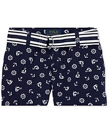 Little Girls Chino Shorts