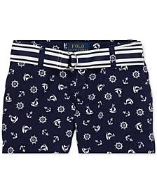 Toddler Girls Chino Shorts