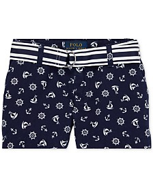 Polo Ralph Lauren Toddler Girls Chino Shorts