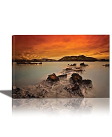 Eurographics Primal Elements Framed Canvas Wall Art