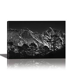 Eurographics Everest View Framed Canvas Wall Art