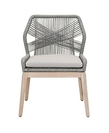 Essentials for Living Loom Outdoor Dining Side Chair Set of 2