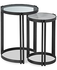 Elisabeta Nesting Side Tables (Set of 2), Created for Macy's