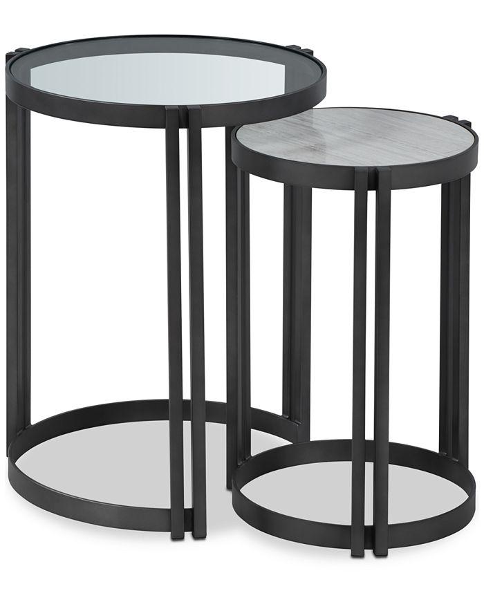Furniture - Elizabeta Nesting Side Tables (Set of 2)