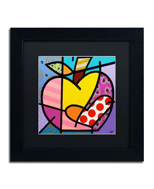 "Trademark Global Roberto Rafael 'Big Apple IV' Matted Framed Art - 11"" x 11"""