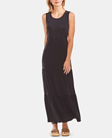 Vince Camuto Tiered Jersey Maxi Dress