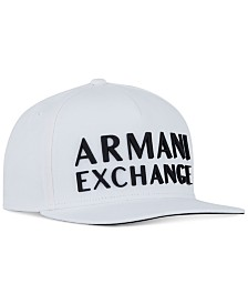 A|X Armani Exchange Men's 3D Logo Snapback Hat