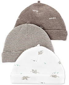 Baby Boys & Girls 3-Pk. Hats