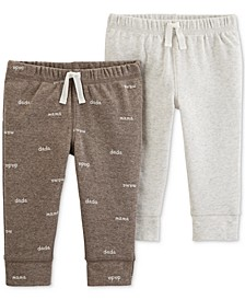 Baby Boys & Girls 2-Pk. Jogger Pants