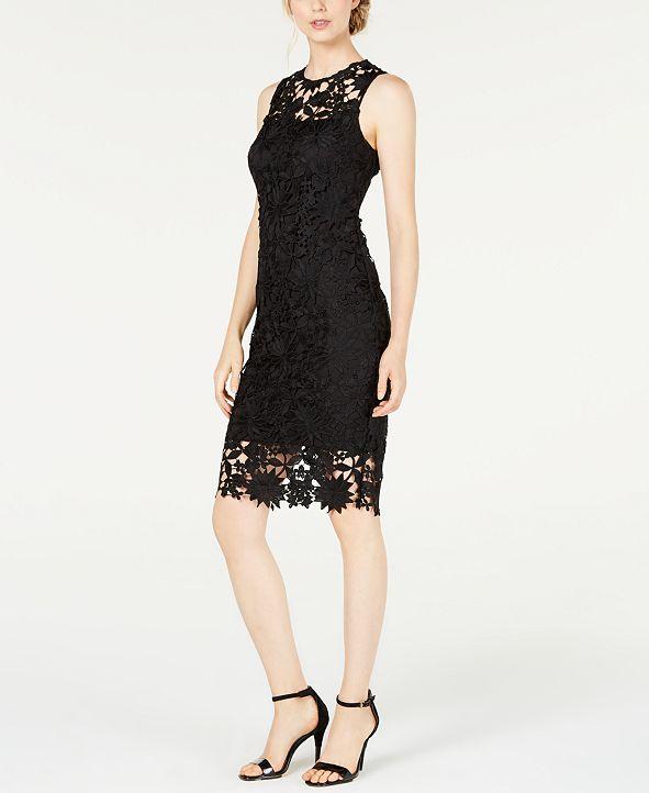 Calvin Klein Lace Sheath Dress