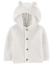 Baby Boys or Girls Hooded Cardigan