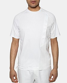 Men's Pieced Drawstring T-Shirt