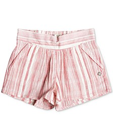 Little & Big Girls Striped Cotton Shorts