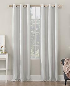 Sun Zero Bardot Dupioni Faux Silk 100% Blackout Window Collection