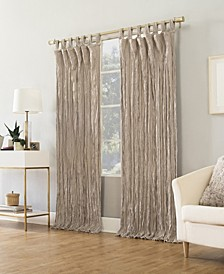 Suite 918 Odelia Distressed Velvet Tab Top Window Collection
