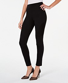 INC Moto Shaping Leggings with Extended Sizes, Created for Macy's