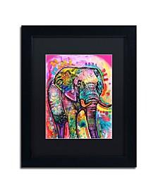 "Dean Russo 'Elephant' Matted Framed Art - 11"" x 14"""