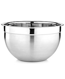 Martha Stewart Collection Stainless Steel Mixing & Prep Bowl, 7.4 Qt., Created for Macy's
