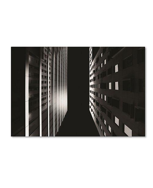 "Trademark Global Erik Brede 'Barcode Project Part 1' Canvas Art - 12"" x 19"""