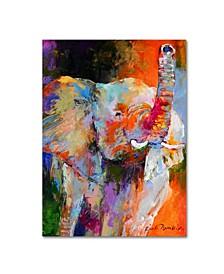 """Richard Wallich 'Art Elephant' Canvas Art - 14"""" x 19"""""""