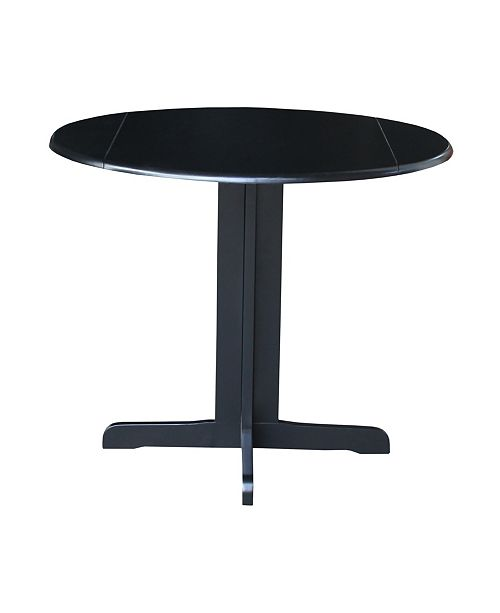"""WHITEWOOD INDUSTRIES/INTNL CONCEPTS International Concepts Dual Drop Leaf Table - 36"""""""
