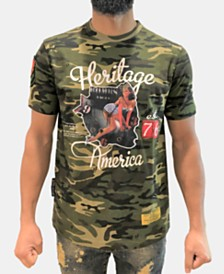 Heritage America Men's Bombs Away Camo T-Shirt