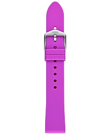 Fossil Unisex Sport Violet Silicone Smart Watch Strap