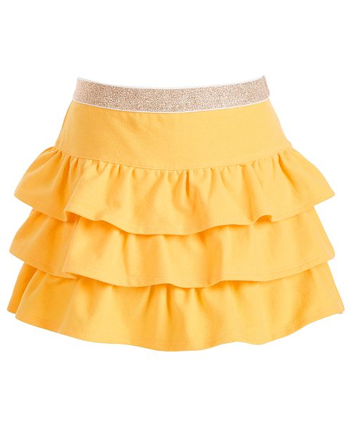 Epic Threads Toddler Girls Tiered Scooter Skirt, Created for Macy's
