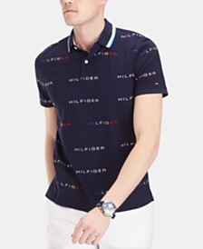 Tommy Hilfiger Men's Custom Fit Cedric Polo