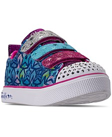 Little Girls' Twinkle Toes: Twinkle Breeze 2.0 - Sparkle Dust Casual Sneakers from Finish Line