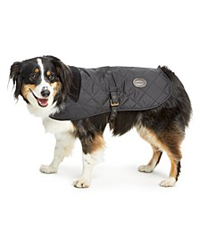 Quilted Reversible Plaid Dog Coat