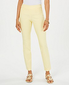 Cambridge Skinny Pull-On Tummy-Control Pants, Created for Macy's
