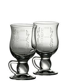 Irish Coffee Glass Pair