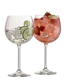 Erne Gin and Tonic Glass Pair