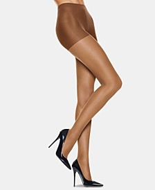 6-Pk. Silk Reflections Sandal Foot Silky Sheer Pantyhose